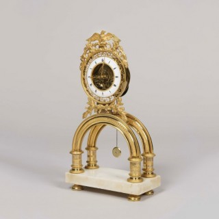 A Skeleton Clock from the Directoire Period