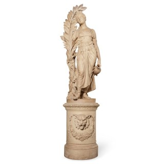 Terracotta sculpture of Hebe by Kuhse and Ernst March Söhne