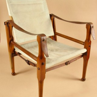 An Original Early Used Safari/Campaign Chair circa 1900-1920