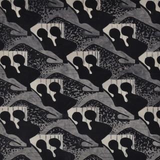 Black and Grey - Textile Design