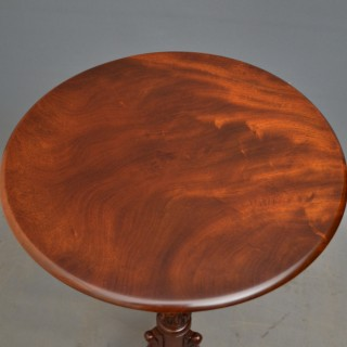 William IV Mahogany Occasional Table