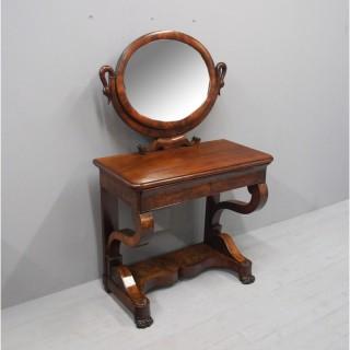 Second Empire Mahogany Dressing Table