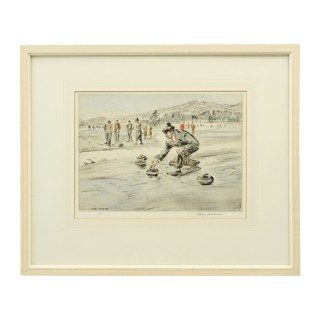 Henry Wilkinson Curling Etching