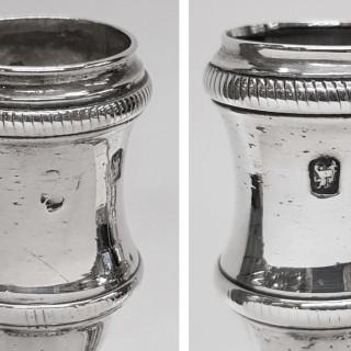 George III Silver Candlesticks