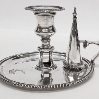 Georgian Silver Chamberstick