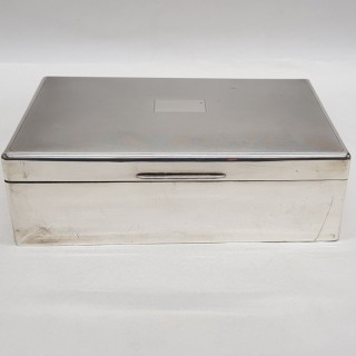 Art Deco Silver Box