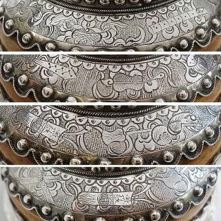 Antique Silver Mazer Bowl
