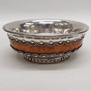 Antique Silver Mazer Bowl