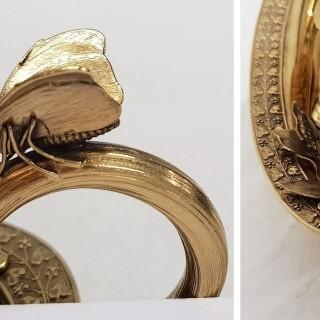 Antique Georgian Silver Inkstand