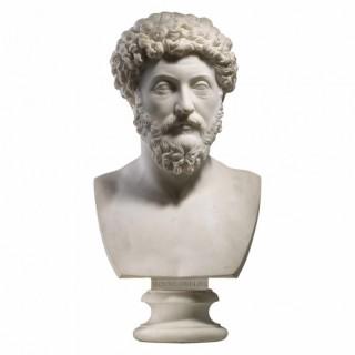 MARCUS AURELIUS ROMAN EMPEROR – 18TH CENTURY GRAND TOUR PORTRAIT BUST