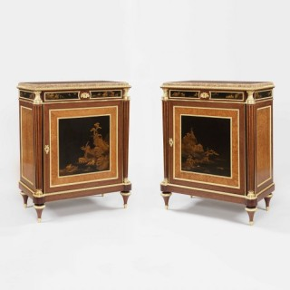 A Fine Pair of Cabinets by Henry Dasson