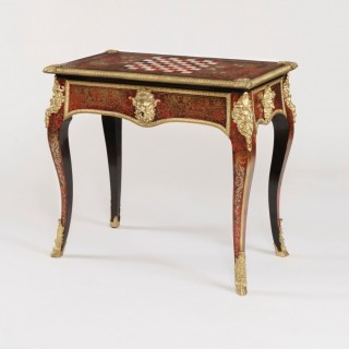 A Fine Games Table attributed to Thomas Parker