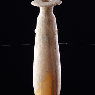 Ancient Greek Alabastron Carved of Egyptian Alabaster
