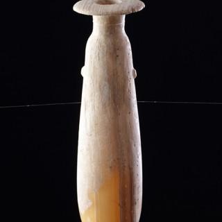 Ancient Greek Alabastron Carved of Egyptian Alabaster