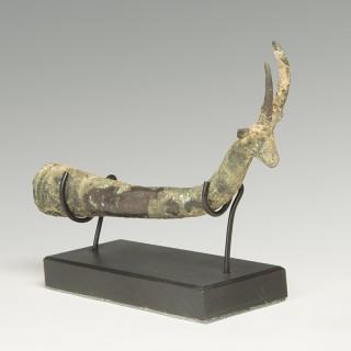 Luristan Bronze Whetstone Socket