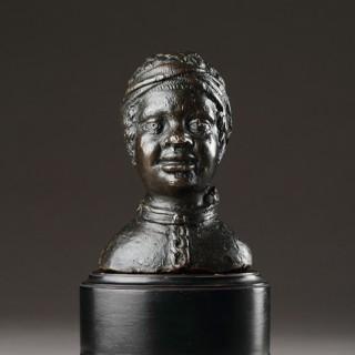 Venetian Renaissance Bronze Bust of an Enslaved African
