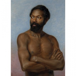 ORIENTALIST PORTRAIT OF A NORTH AFRICAN MAN ||| CIRCLE OF HORACE VERNET