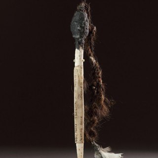 Central Australian Desert Aboriginal Medicine Man's Ritual 'Pointing Bone'