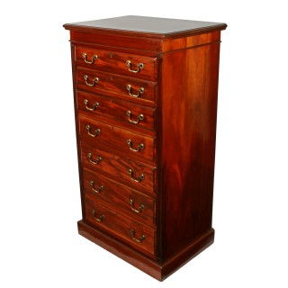 Tall Mahogany Seven Drawer Chest