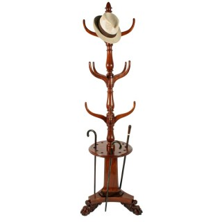 William IV Mahogany Hall Stand
