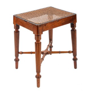 Georgian Mahogany Gillows Design Stool
