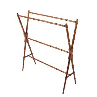Faux Bamboo Towel Rail