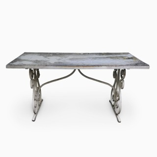 Early Victorian Garden Dining Table