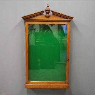 Birch Notice Cabinet or Showcase