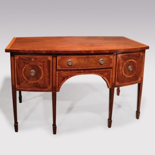 Late 18th Century Sheraton Period Mahogany Sideboard