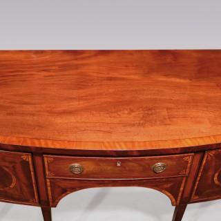 Late 18th Century Sheraton Period Mahogany Sideboard