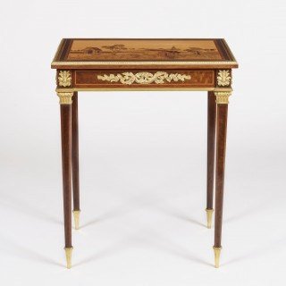19th Century Marquetry Side Table