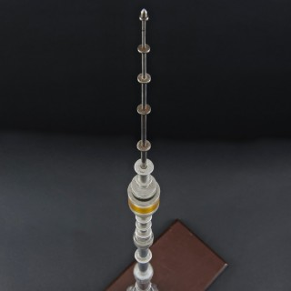 Architectural model of the Ostankino Tower