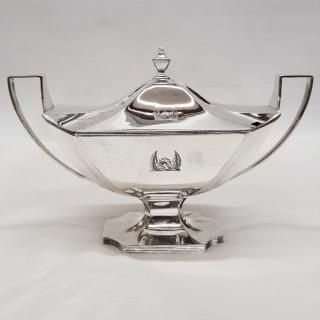 George III Silver Sauce Tureens