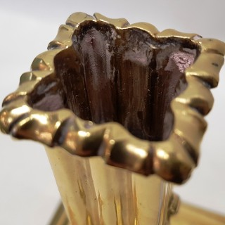 Antique Charles II Pillar Candlestick