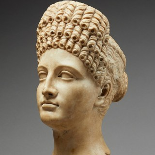 Finely Carved Grand Tour Portrait Head, Italy, 18th/early 19th century