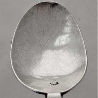 Nice quality Charles II silver puritan spoon London 1661 William Cary