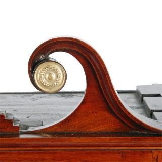Georgian Mahogany Dwarf Cabinet
