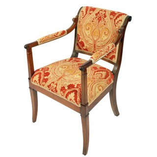 19th Century Empire Design Elbow Chair