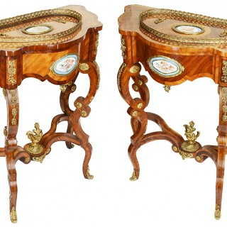 Pair of 19th Century French Console or Jardinière Tables