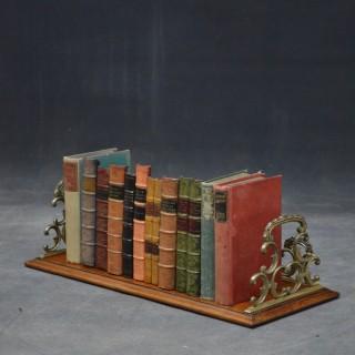 Victorian Walnut Book Stand