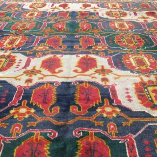 Striking Beshir rug