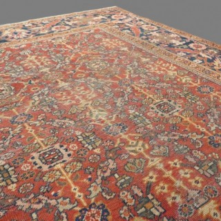 Large 19th century Mahal carpet