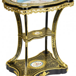 19th Century French Boulle Étagère