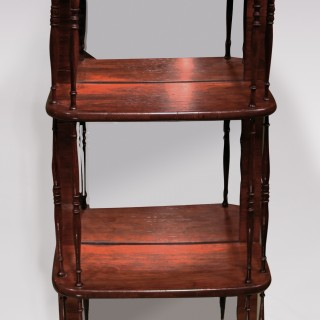 Pair Of Early 19th Century Regency Small Hanging Wall Shelves