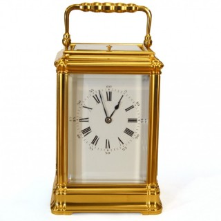 Grande sonnerie Striking Carriage Clock - Henri Jacot