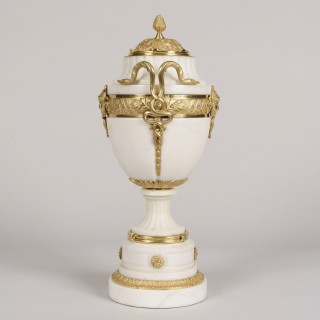 A Pair of Urns in the Louis XVI Manner