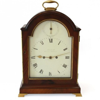Regency striking Bracket Clock By Barrauds, London