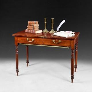 A rare Regency mahogany metamorphic library table/steps