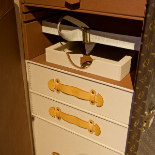 Louis Vuitton Stokowski Secretaire Trunk