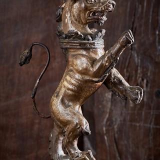 James I oak heraldic lion